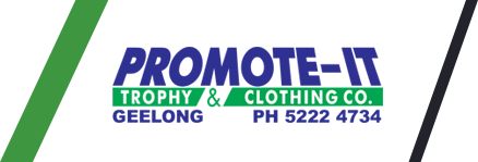 Promote IT Trophy and Clothing Co Logo