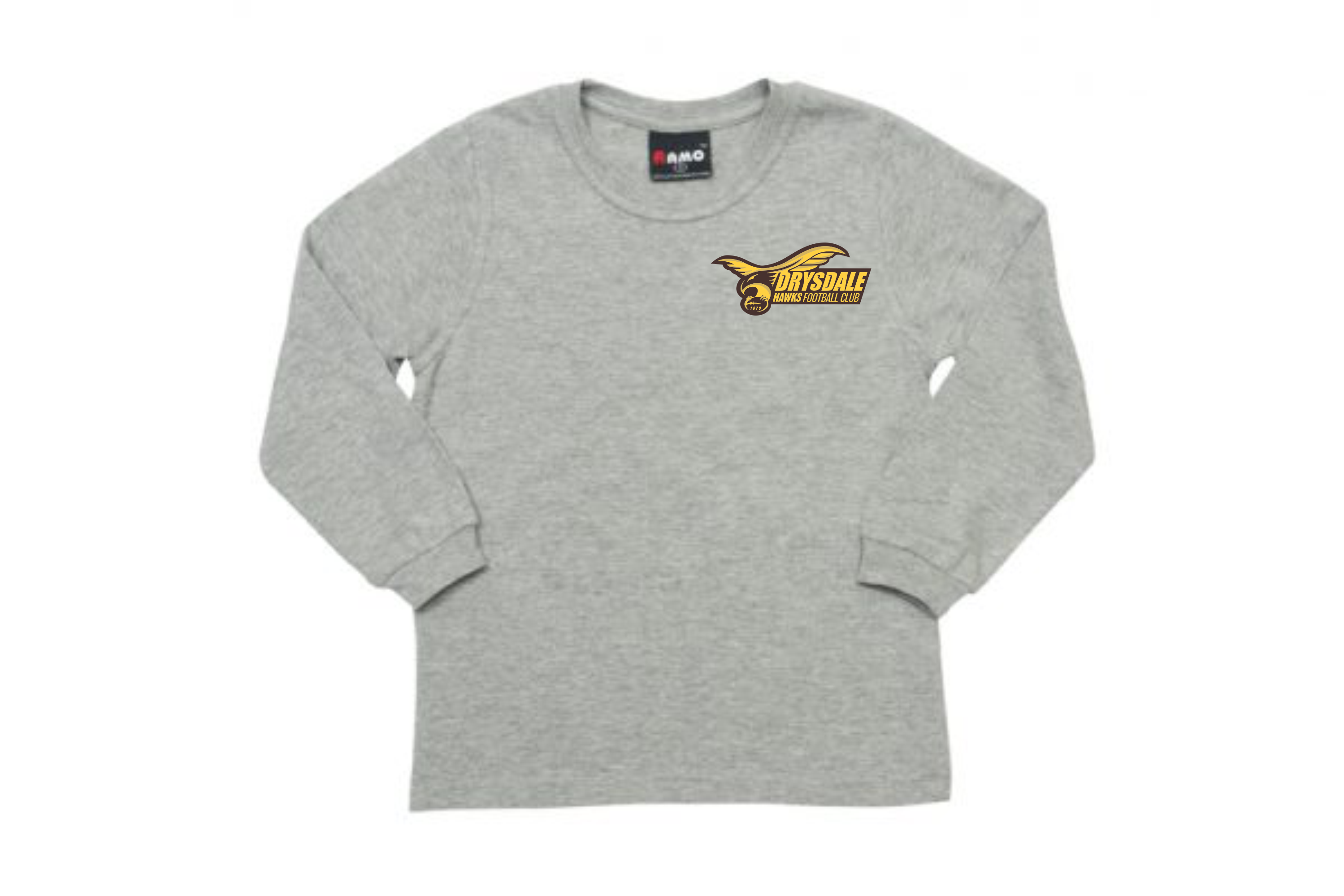 Grey Marle Long Sleeve Tee – KIDS