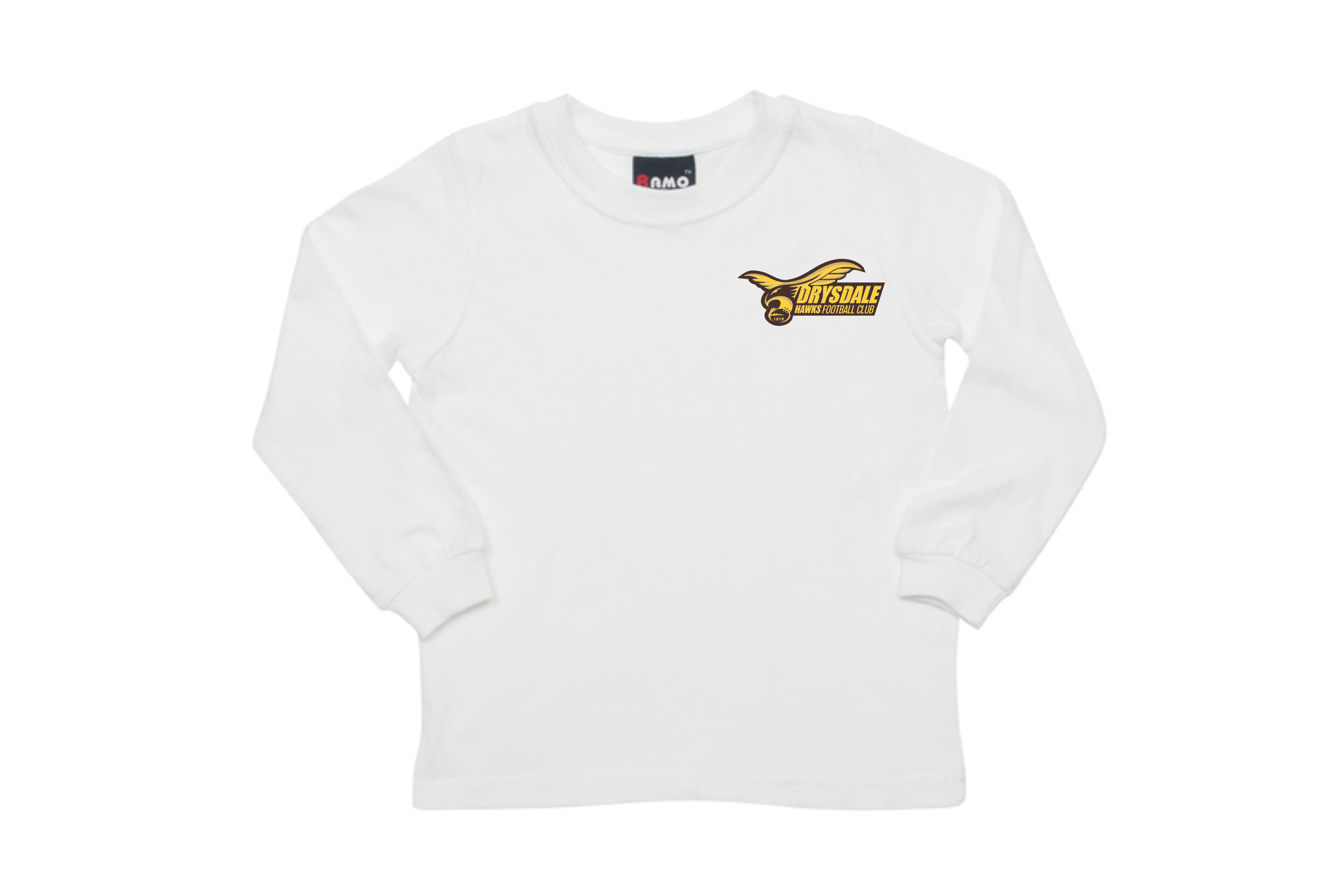White Long Sleeve Tee – KIDS