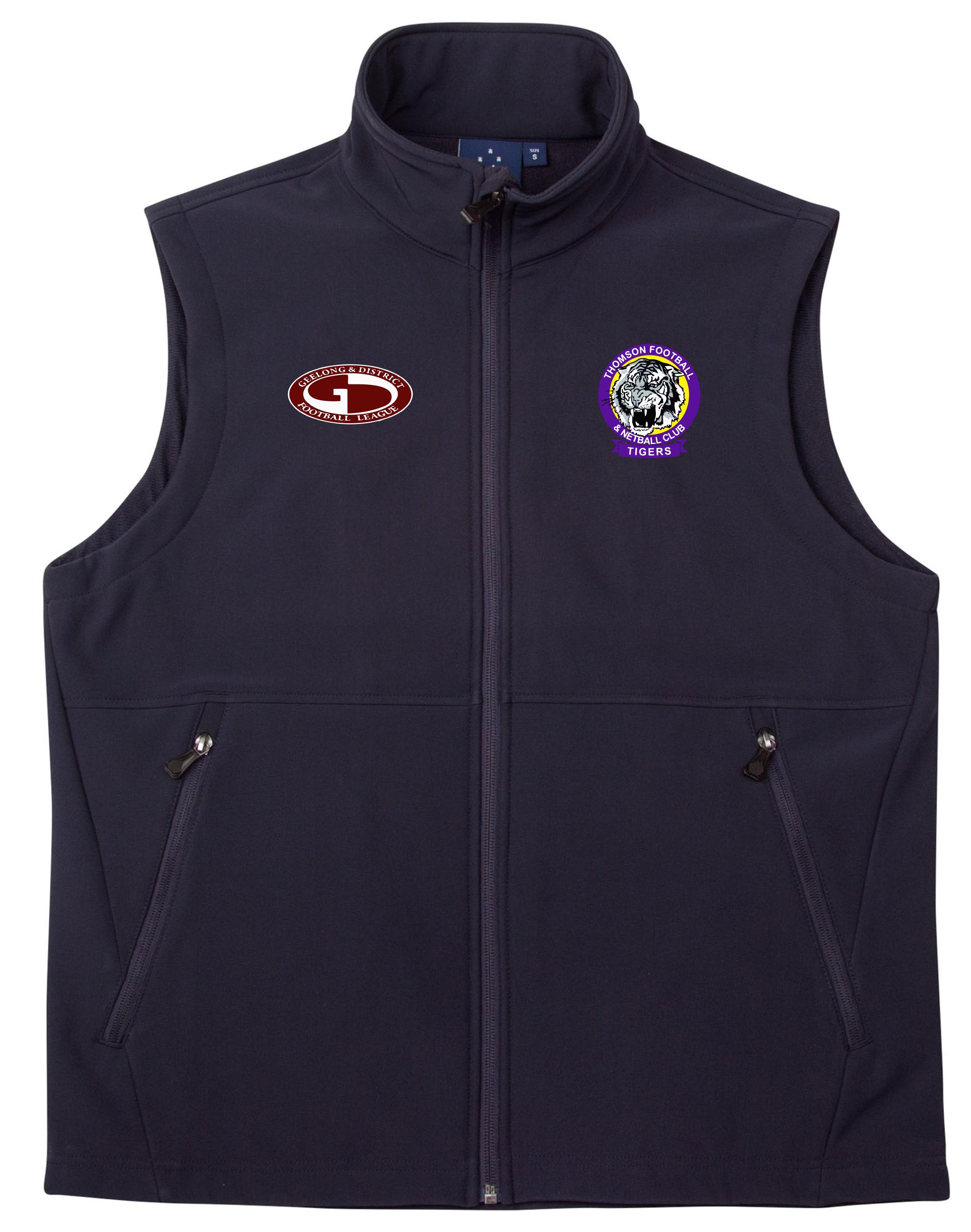 Men's Soft Shell Vest