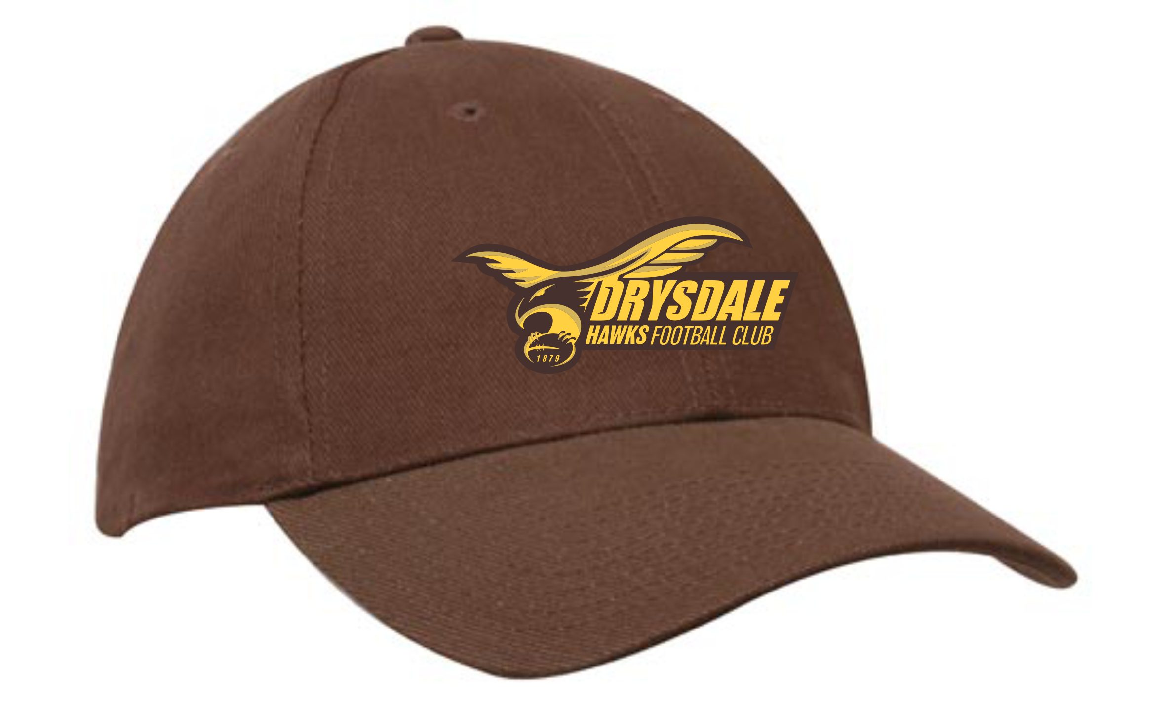 Club Cap in Brown