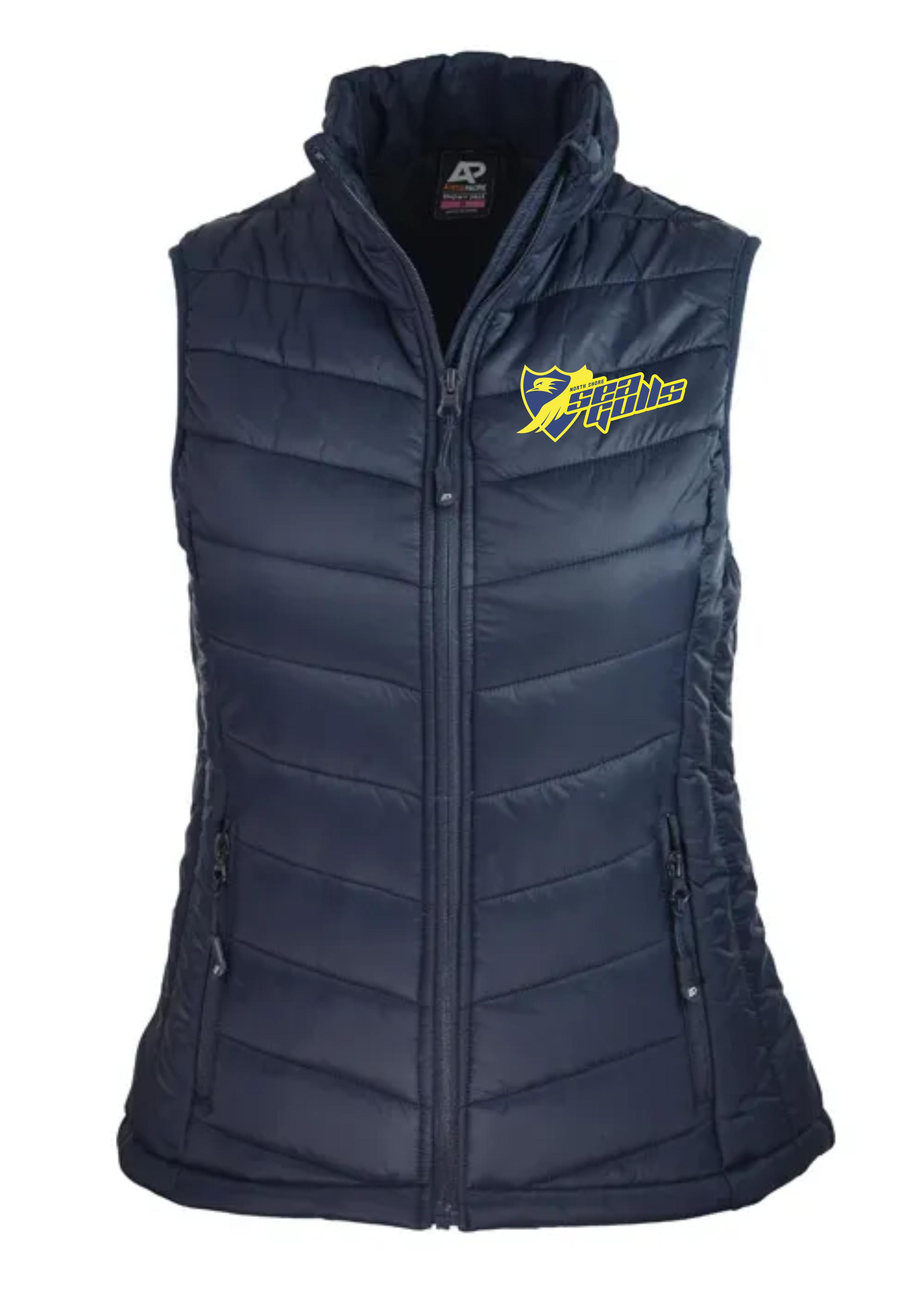 Ladies Puffer Vest