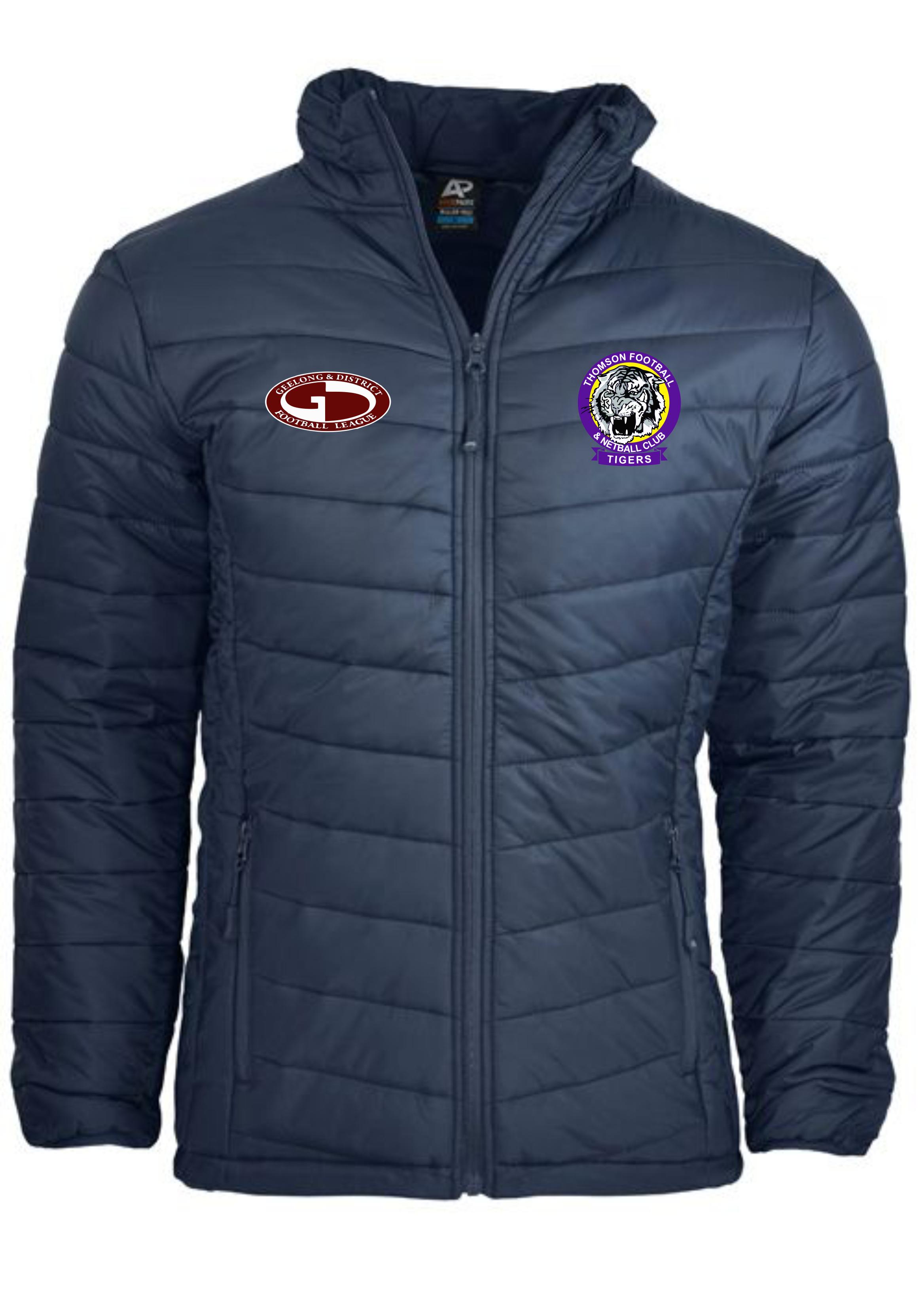 Men's Navy Puffer Jacket