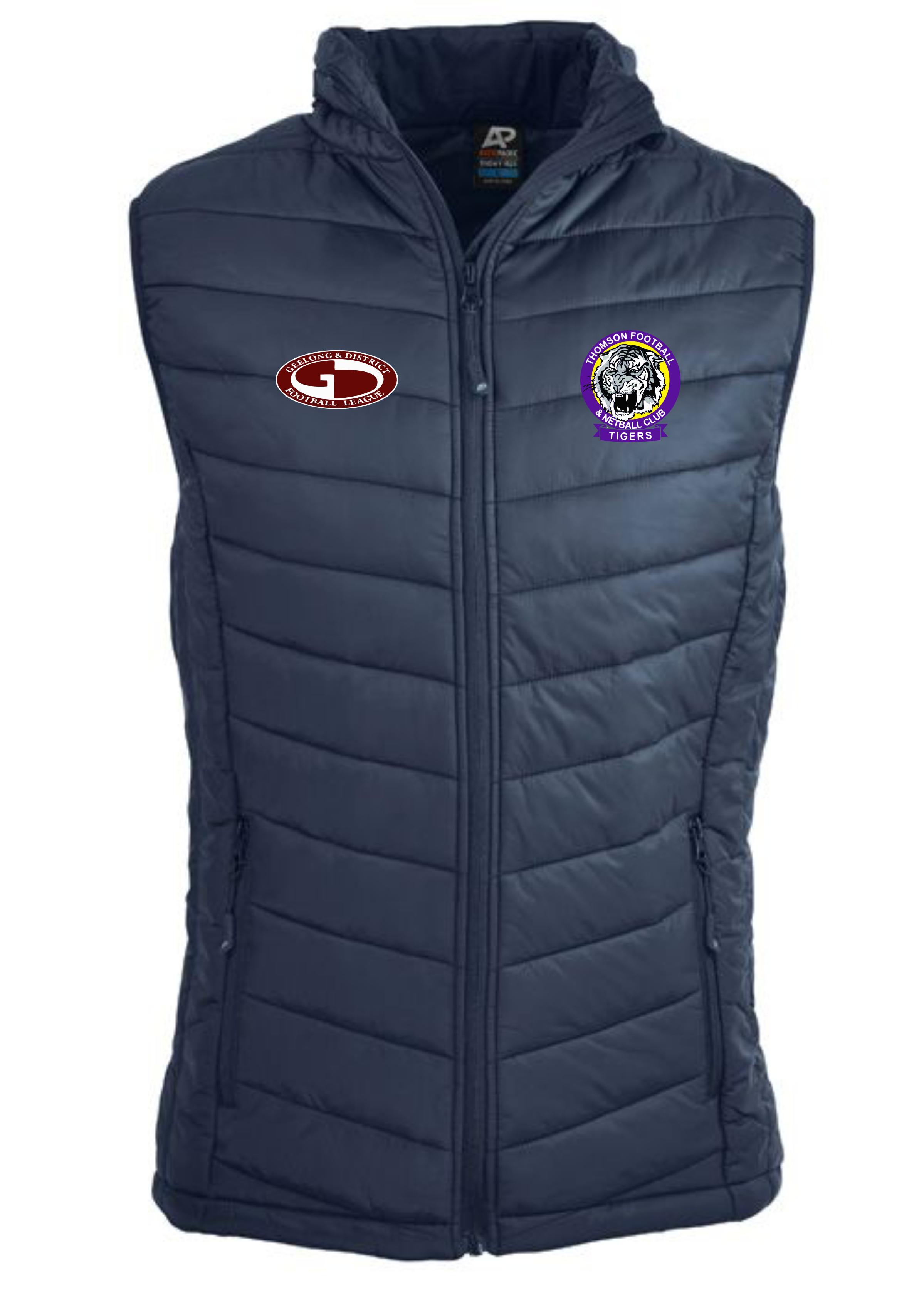 Men's Navy Puffer Vest