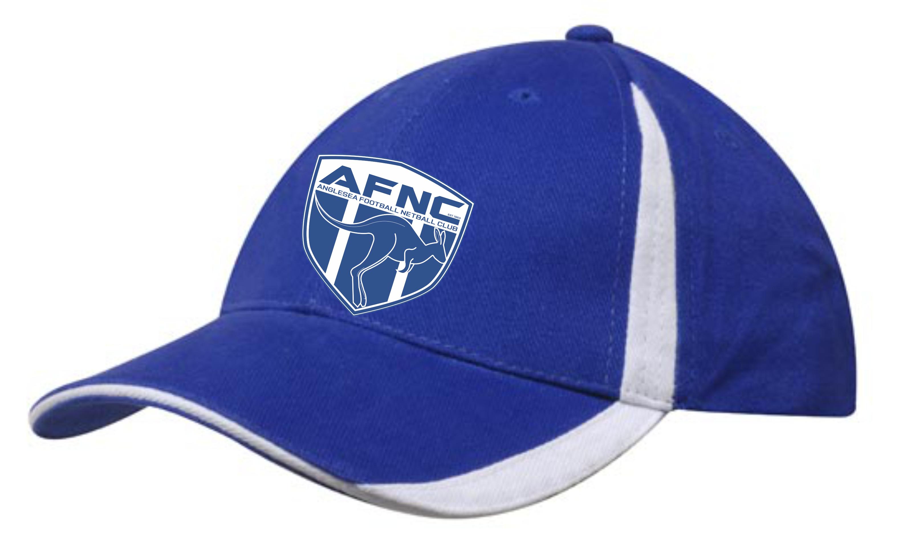 Royal/White Club Cap