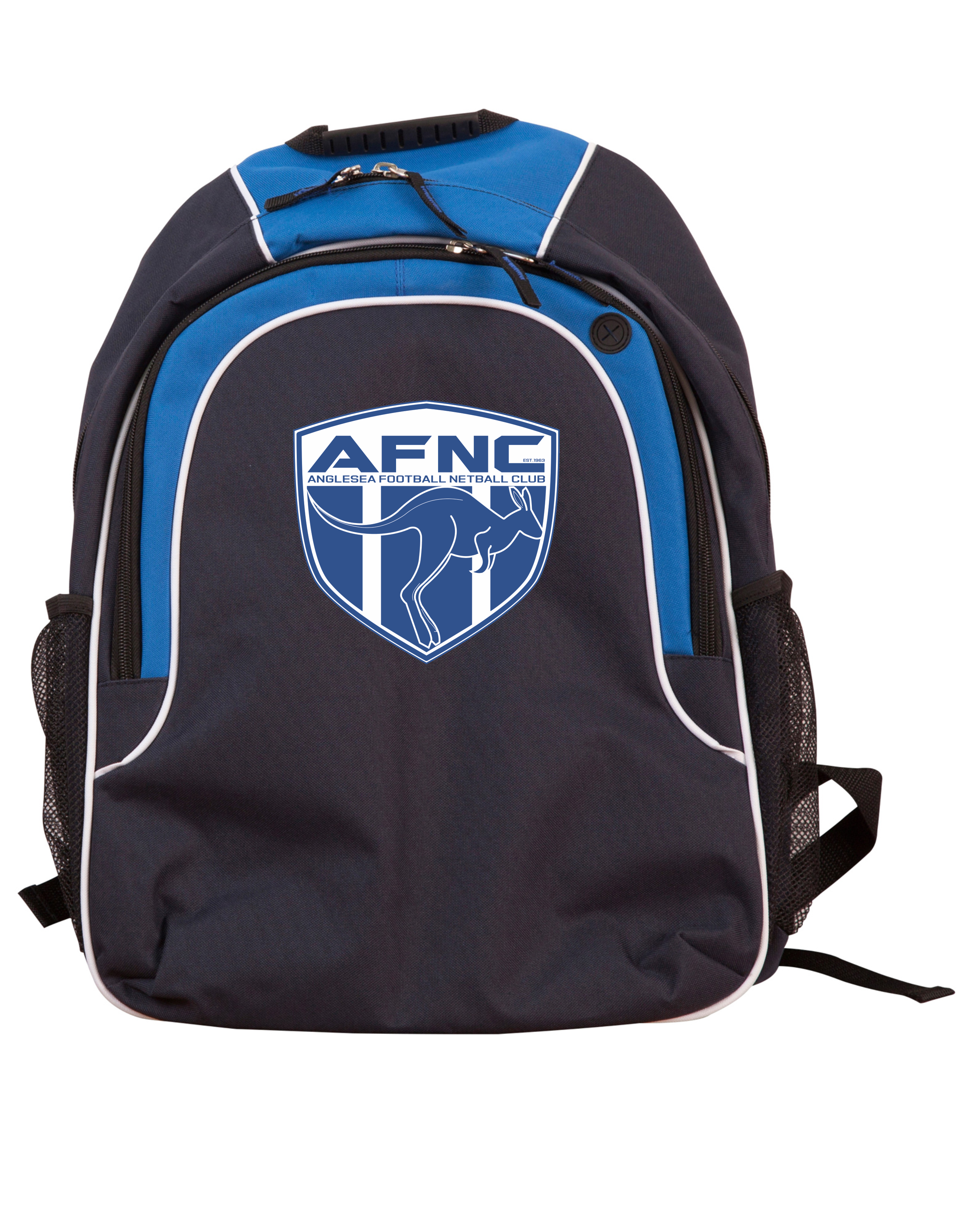 Sports Backpack Navy/White/Royal