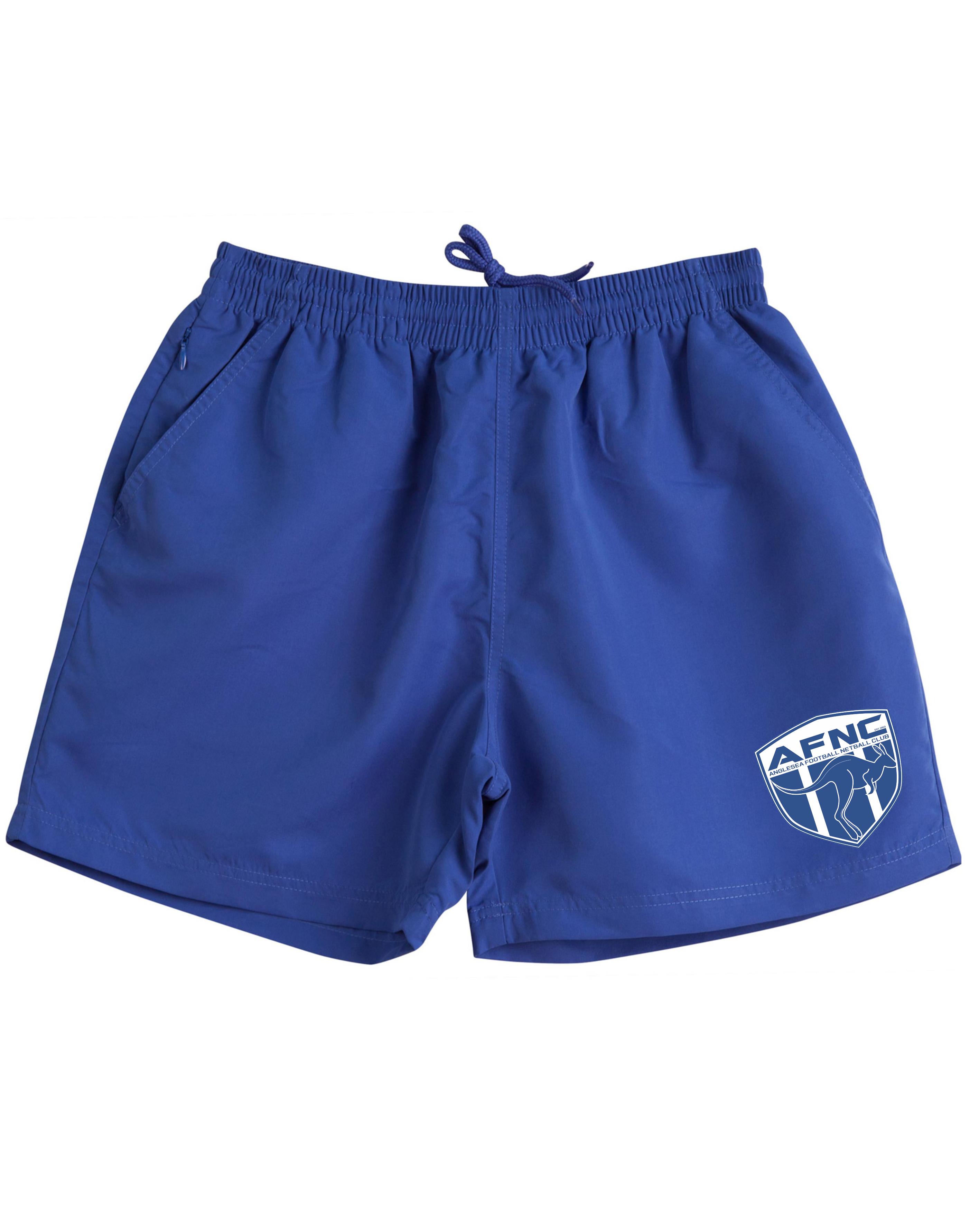 Kids & Adults Royal Unisex Training Shorts